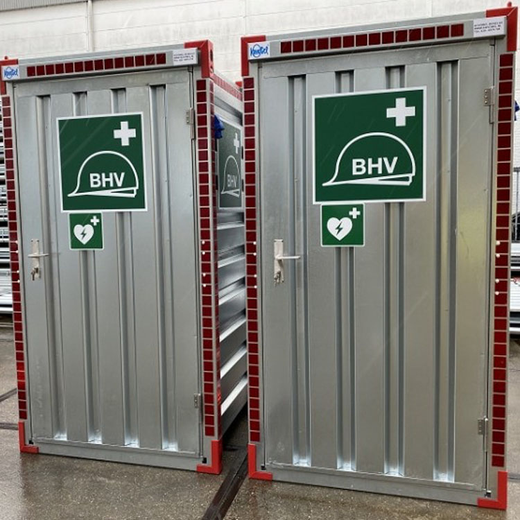 Kovobel BHV EHBO Calimiteiten Container