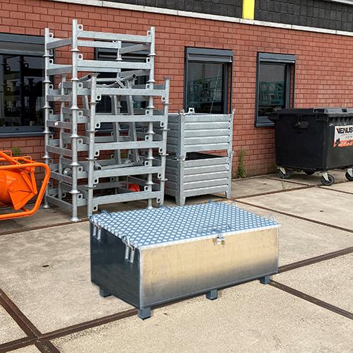Opbergkist transportkist aluminium